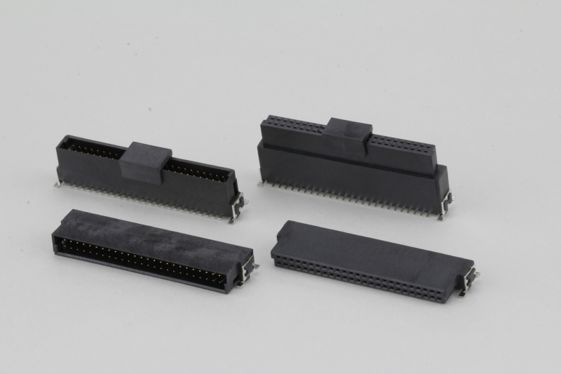 1.27mm SMC connector | Compact and Reliable with High Signal Integrity are available with pin counts of 12 to 80. Straight or angled male and female connectors enable different mating configurations.  ...