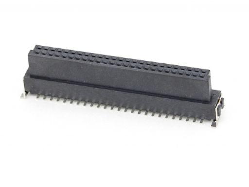 2321-AxxFCxxDPxT-P | 1.27mm SMC Female Vertical SMD