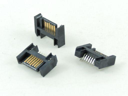 7904-07MC15DBU-22   SATA 7P R/angle Reverse SMD Type