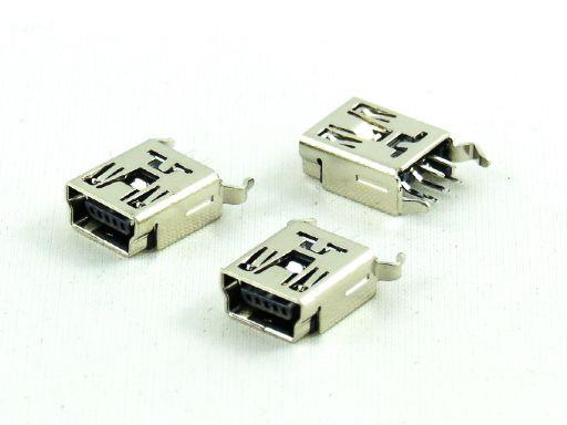 8969-B05C00SBA | Mini USB B Type 5P Straight Female