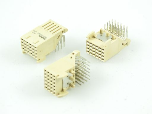 9111-C422411CB30D | 4 Rows Female R/A type for Throught-hole Reflow