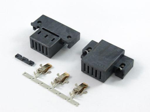 9390-2H03HNB | 3P Female power Wire Type