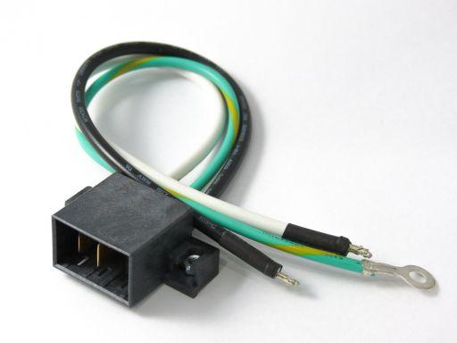 9390-3H03C00X20 | 3P Male Power Wire Type 20cm
