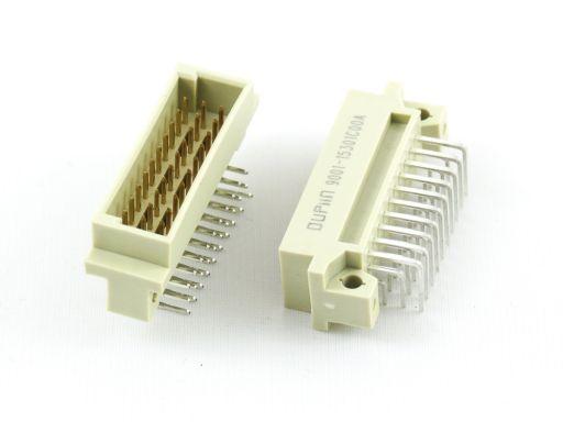 9001-15   DIN 41612 1/3C Type Male