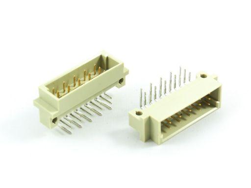 9001-25   DIN 41612 1/3C Type Male 5.08mm