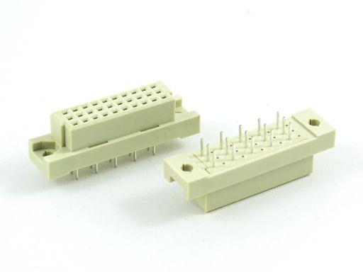 9001-26   DIN 41612 1/3C Type Female 5.08mm