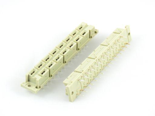 9001-52151P | DIN 41612 H15 Press Fit Type Female