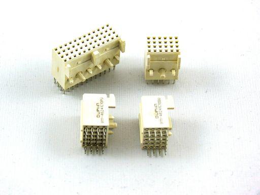 9111-46 | H.D. 2mm Futurebus(+)4 Rows Female Str. Dip Type