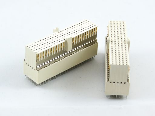 9111-74AB | Hard metric connector female straight Type AB-25