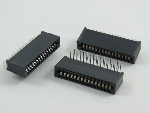 8006 | 2.54mm Edge Connector R/angle Type