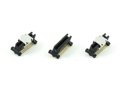 2349-xxG(C)xxDxxT-x | 1.00mm Male Vertical SMD stacked height 8.00mm through 15.0mm