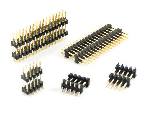 2012-2 | Pin Header 2.54mmX2.54mm Dual Insulator