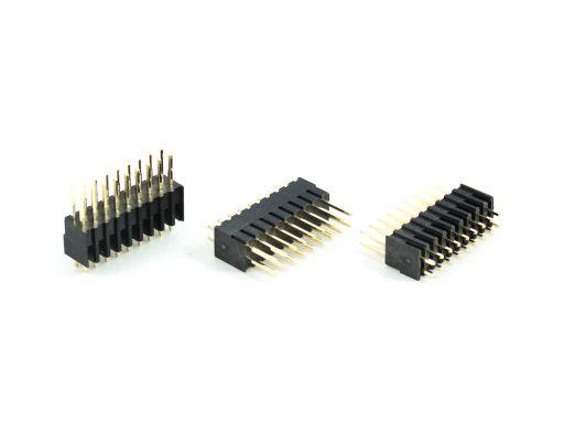 2016-2 | Pin Header 2.54mm Straight Type Plastic 6.4X7.4mm