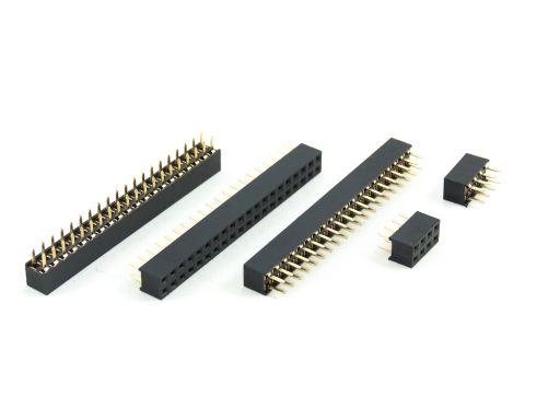 2041-2 | PCB Socket 2.54mmX2.54mm Straight Type Insulator 5.0mm
