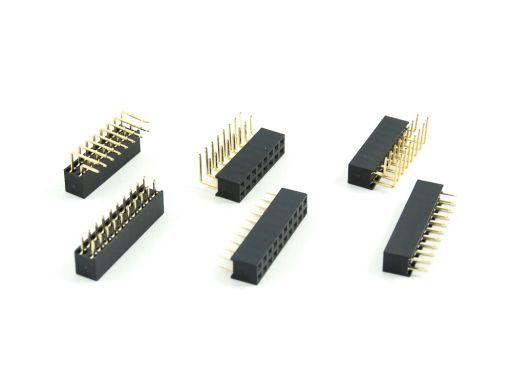 2042-2 | PCB Socket 2.54mmX2.54mm Insulator 5.7mm