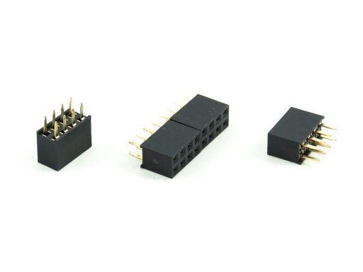 2043-2 | PCB Socket 2.54mmX2.54mm Straight Type Insulator 7.1mm