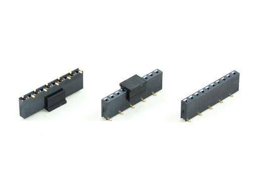 2043-1 | PCB Socket 2.54mm SMD Type Insulator 7.1mm