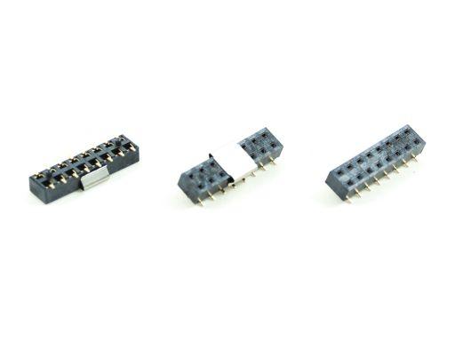 2043-A2 | PCB Socke t2.54mm SMD Type Insulator 3.5mm