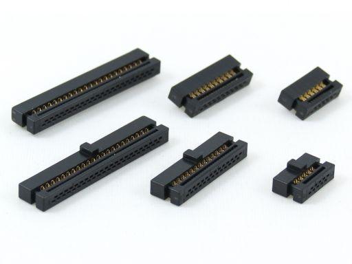 1204-XXG00B2A   IDC Socket 1.27mm x 1.27mm Dual row w/polarization key Robust contact