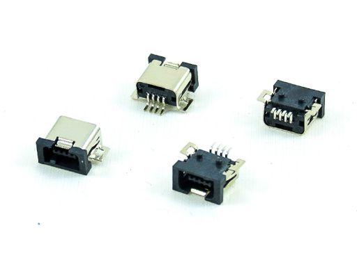 8969-A04 | Mini USB A Type 4P SMD Female