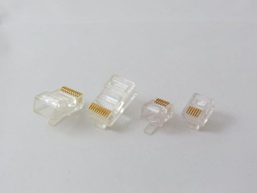 8949-A | Modular Plug For Round Cable