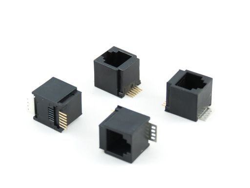 8949-H4D | Modular Jack Top Entry SMD Type L:14mm W:15.5(8P) H:13.3mm