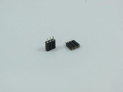 8005-1 | 2.54mm Machine Pin IC Socket Single Row 10mm/Profile:7mm