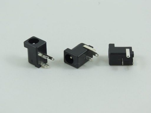 8963-2 | 2.5mm&2.0mm DC Power Jack R/angle